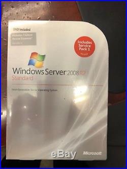 NEW P73-04754 Microsoft Windows Server 2008 R2 Standard 5 CAL