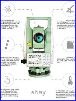 NEW SANDING STS 772R10L Windows CE operating system total station