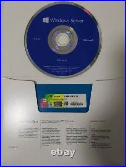 NEW Windows Server 2012 R2 Standard 64 Bit License Key OS DVD, USB or Download