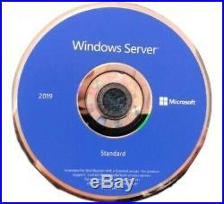 NEW Windows Server 2019 Standard 64 Bit License Key & OS USB or DL Included