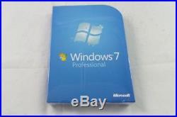 New Microsoft Windows 7 Professional Full Version (FQC-00129)