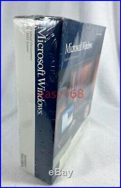 New Sealed Microsoft Windows 3.0 Retail 3.5 Floppy 1990 USA NoteStar Walkom DOS