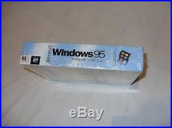 New Sealed Microsoft Windows 95 Retail Software 3.5 Collector Floppy 1995