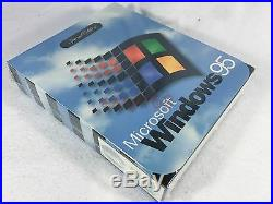 New Sealed Microsoft Windows 95 Retail Software Special Edition Collector CD
