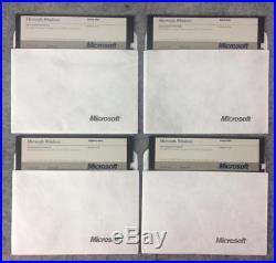 Original Microsoft WIndows Version 1.04 IBM PC DOS MS-DOS operating system 1987