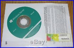 Original Windows Server 2012 R2 Essentials incl. 25user DVD + COA-Key neu