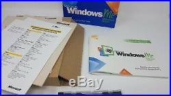 Rare Microsoft Windows ME Millennium Edition BIG BOX Version
