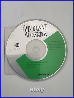 Rare Vintage Microsoft Windows NT Workstation v3.51 CDROM