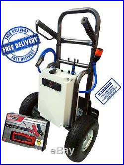 Remote Operated Softwash & Window Cleaning Trolley System Simply The Best