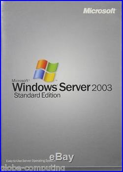 Microsoft Windows Server 2003 Standard SP1 5 CAL P73-01071 RETAIL Box