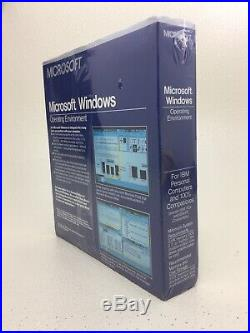 SEALED Microsoft Windows 1 1.03 Operating Environment Vintage NEW RARE