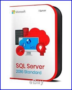 SQL Server 2016 Standart Digital Licence