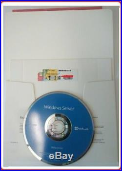 Sealed Microsoft Windows Server 2019 DATACENTER 2xCPU 16CORES + 50RDS USER CALs