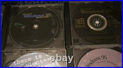Ultra Rare Windows 95 Beta, Ddk, Development, Chicago Set 9cd