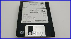Very Rare Windows 95 Beta-2 Release Floppies