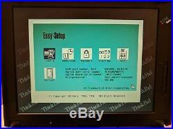 Vintage IBM ThinkPad 380ED Laptop Windows 98 SE Operating system CD Floppy