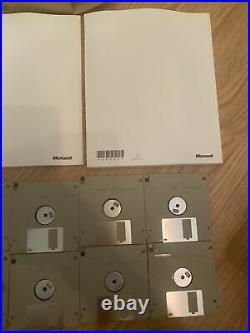 Vintage windows 95 preview program disks and paperwork rare
