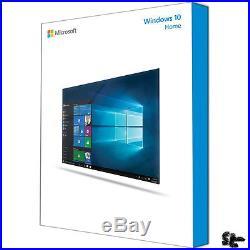 WINDOWS 10 Home 64bit SB/DSP DVD Vollversion Deutsch NEU/OVP
