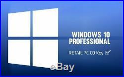 WINDOWS 10 PROFESSIONAL (PRO) PRODUCT KEY VOLUME MAK 500 (PC) ESD via Email
