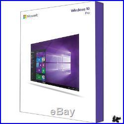 WINDOWS 10 Pro 64bit Professional SB/DSP DVD Vollversion Deutsch NEU