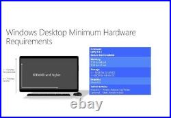 Windows10Pro DVD & Activation Key+SSD Crucial MX500 1Tb / 2,5 NEW & SEALED