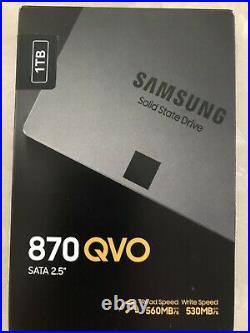 Windows10Pro DVD & Activation Key+SSD Samsung 870 QVO 1T / 2,5 NEW & SEALED
