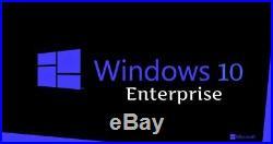 Windows 10 Enterprise 32/64 Bit MAK License for 650 PCs Digital Delivery