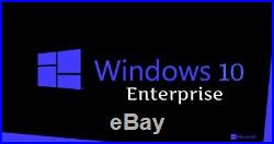 Windows 10 Enterprise LTSB 2016 32/64 Bit Key for 50 PCs Digital Delivery