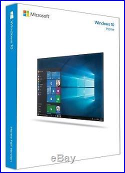 Windows 10 Home 32 bit/64 bit English International PC USB Flash Drive Fast
