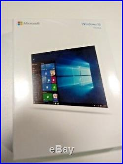 Windows 10 Home 32 bit/64 bit English International on USB Genuine Key