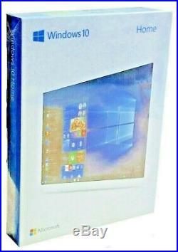 Windows 10 Home Retail BOX Vollversion USB Stick 32+64Bit Dauerlizenz DE