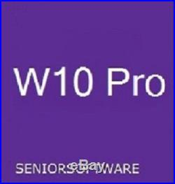 Windows 10 Pro 32 / 64 Bit Genuine License Key Product Code