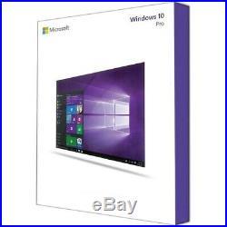 Windows 10 Pro 64Bit DVD Key Vollversion Professional Original Microsoft Neuware