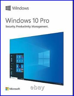 Windows 10 Pro FPP USB Flash Microsoft Operating System PC Computers Laptop