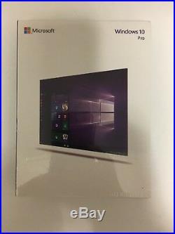 Windows 10 Pro New Sealed Retail Box USB English 32/64 Bit FQC-08788