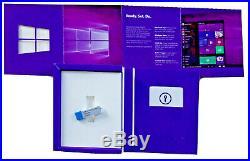 Windows 10 Pro Vollversion 32Bit/64Bit, Retail-Box, USB-Stick (eng) PC Key mui