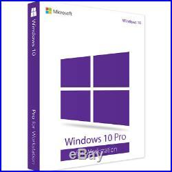 Windows 10 Pro for Workstation 64 Bit New Full Version Download
