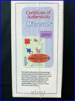 Windows 2000 Advanced Server (1 Server/s, 25 CAL/s) ENGLISH C10-00010 NEW