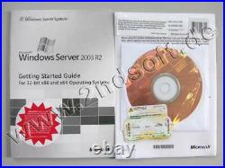 Windows 2003 Enterprise Server Edition R2 mit 25 CALs Vollversion, multilingual