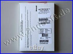 Windows 2008 Server Standard R2/x64 mit 5 CALs SB Vollversion, deutsch