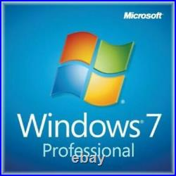 Windows 7 Professional 32/64 bit License WithDVD Upgrade English (FQC-01156)