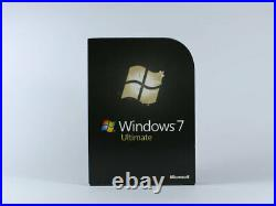 Windows 7 Ultimate 32-Bit/x64 Retail Vollversion, englisch, SKU GLC-00181