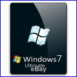 Windows 7 Ultimate Genuine Key 32/64 Bit Genuine License Instant Delivery
