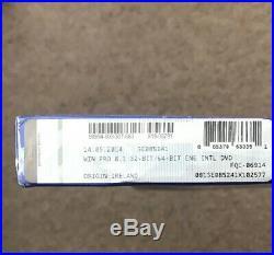 Windows 8.1 Pro 32-bit 64-Bit UK DVD License Product Key Retail Pack X 2