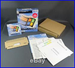 Windows 98 New Version CD-ROM Box Full Complete Set System+key Win98