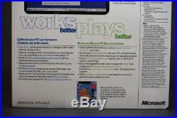 Windows 98 New Version CD Sealed Box Full Complete System+key Never Opened En