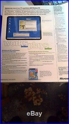 Windows 98 Second Edition. Boot Disk(floppy)+CD With Product Key