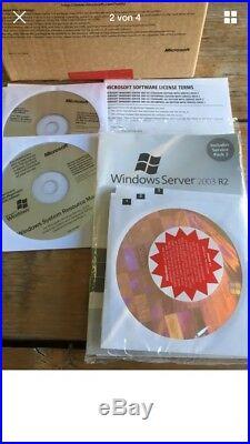 Windows Server 2003 R2 Enterprise mit SP2 incl. 25 CALs, Multilanguage, 32 Bit