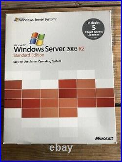 Windows Server 2003 R2 Standard Edition, incl. 5 Clients, Englisch MwSt Rechnung