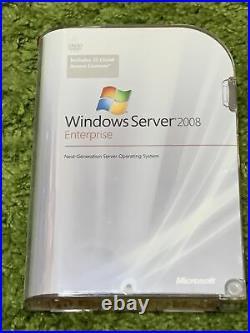 Windows Server 2008 Enterprise New With 25 CAL